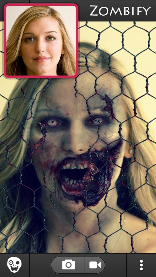 Screenshot von ZombieBooth 2 - Android App
