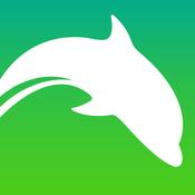 App Icon: Dolphin Internet Browser - Schnell Downloaden und sicher suchen, inkognito surfen, mit Hintergrund 9.9.0