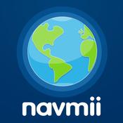 App Icon: Navmii GPS Australien & Neuseeland: Navigation, Karten (Navfree GPS) 3.4.2
