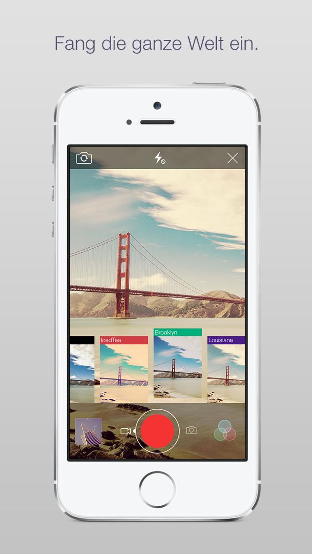 Screenshot von Flickr iPhone- / iPad-App