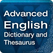 App Icon: Advanced English & Thesaurus