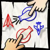 App Icon: Paper War für 2 Spieler