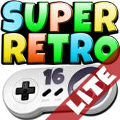 App Icon: SuperRetro16 Lite (SNES)
