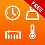 App Icon: Einheitenumrechner Kostenloser: Einheiten und Währungen umrechnen & Umrechnung von Maßeinheiten (Länge, Masse, Zeit, Entfernung) 1.7.7.2