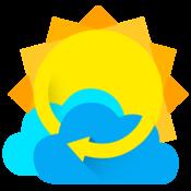 App Icon: Weather 360:  Uhr & Widget