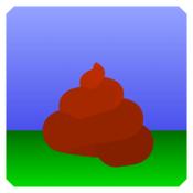 App Icon: Kacka-Wachstumssimulator Mobil