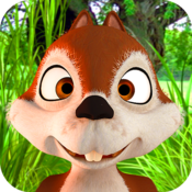 App Icon: Das sprechende Eichhörnchen