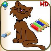 App Icon: Malbuch für Kinder und Babys für iPhone und iPod-56 Einfache Färbungen für Kinder mit Tieren, Clowns und vieles mehr 1.9