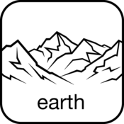 App Icon: PeakFinder Earth