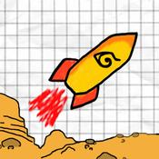 App Icon: A Doodle Fly - Fly to Mars 7.01