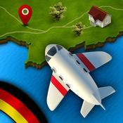 App Icon: GeoFlug Deutschland: Spaß am Lernen der Deutschen Geografie 3.1
