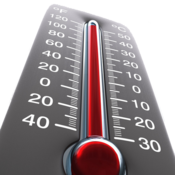 App Icon: Kostenloses Thermometer
