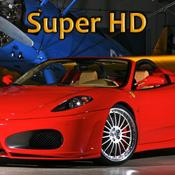 App Icon: Tolle Autos Super HD (für den neuen iPad) – Hintergründe für den iPad 2.3