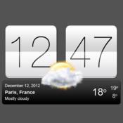 App Icon: Sense V2 Flip Clock & Weather