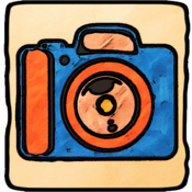 App Icon: Cartoon Camera