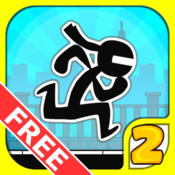 App Icon: Stick City Run 2: Running Game