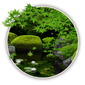 App Icon: Zen Garden -Summer- LW