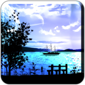 App Icon: Lake View Scene FULL