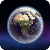 App Icon: Wissenschaft Makrouniversum 3D