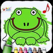 App Icon: Ausmalbuch für Kinder (von Happy-Touch Kindergarten Apps) 1.0