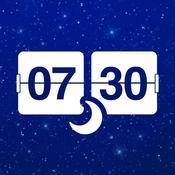 App Icon: Wecker für iPad Gratis - Sozialen Netzwerke, Wetter & Alarm 5.0.4