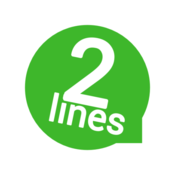 App Icon: 2Lines for WhatsApp