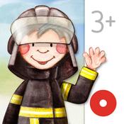 App Icon: Tatütata: Wimmel-Polizei und Feuerwehr. Die interaktive Wimmelapp. 2.5.2