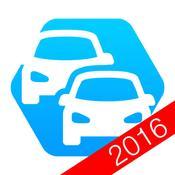 App Icon: Bußgeldrechner 2016 + Bußgeldkatalog 4.2