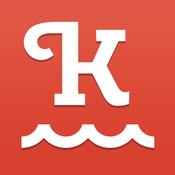 App Icon: KptnCook - Werde zum Chefkoch! Einfache Rezepte & Preise für Rewe, Alnatura, Bio Company & denn's Biomarkt. Lecker kochen! 2.6