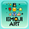 emoji 2 emoticon art free - premade MMS/SMS messages