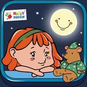 App Icon: Anne kann nicht schlafen – Gute Nacht Geschichte - Hörspiel für Kinder ab 2 Jahren (von Happy-Touch Kinderspiele) 1