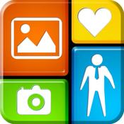 App Icon: InstaFric - Photo Frames & Collagen. 1.0.3