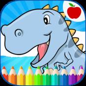 App Icon: Dinosaurier Malbuch