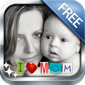 App Icon: Photo Captions Free: Frames, Cards, Collage, Text & more 3.2