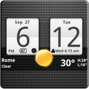 App Icon: Sense Analog Clock Widget