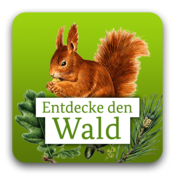 App Icon: Die kleine Waldfibel