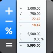 App Icon: CalcTape Taschenrechner