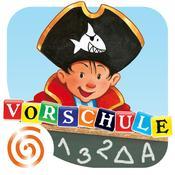 App Icon: Lernerfolg Vorschule - Capt'n Sharky: Alphabet, Zahlen, Rechnen und Englisch 2.1
