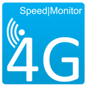 App Icon: 4G Speedmonitor | Speedtest