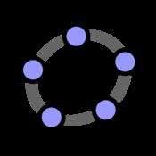 App Icon: GeoGebra