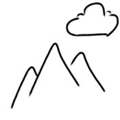 App Icon: Alpen Wetter