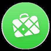 App Icon: MAPS.ME Karte mit Routenplaner