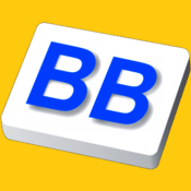 App Icon: Big Buttons Keyboard Deluxe