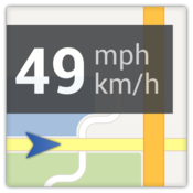 App Icon: Maps Tachometer