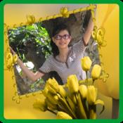App Icon: Blumen-Bilderrahmen