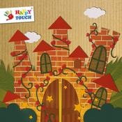 App Icon: Animierte Märchenwelten - Grimms Märchen für Kinder (von Happy-Touch Kinderspiele) 1