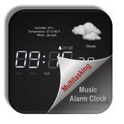 App Icon: Multitasking Music Alarm Clock √ (MM Alarm) - with Weather 1.0