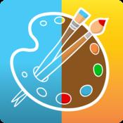 App Icon: PicsArt Kids Drawing Coloring