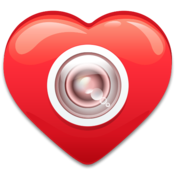 App Icon: Love and be loved. Selfies.