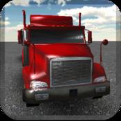 App Icon: LKW-Parkplatz 3D